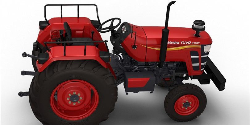Mahindra Yuvo's advanced technology gives more coverage, faster operations & better quality of work.